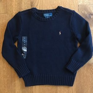 NWOT Polo Cotton Sweater 5T
